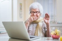 financial scam targets elderly
