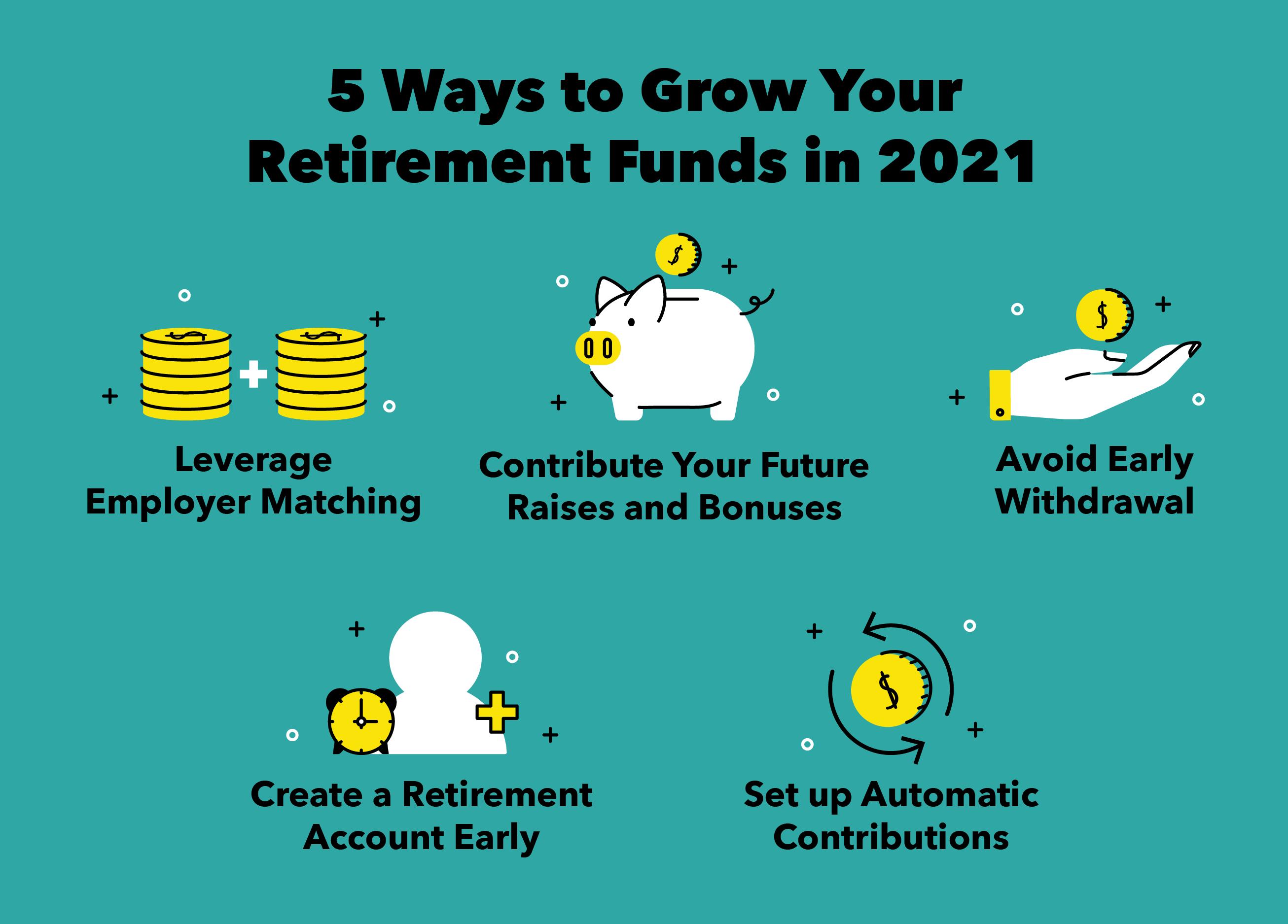 5 Ways to Grow Your Retirement Savings